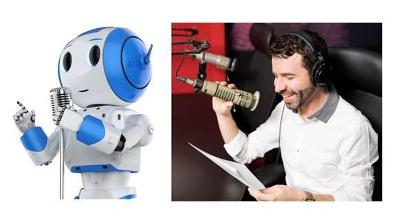 human vs AI voice over narration